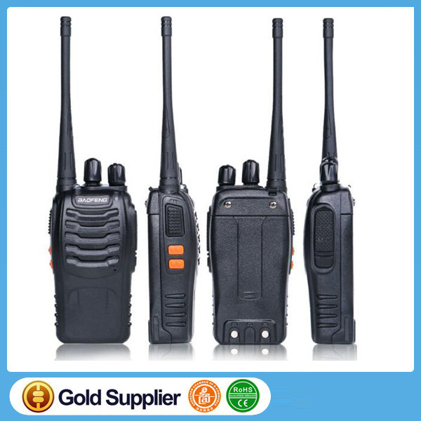 Walkie Talkie BaoFeng Bf-888S Two Way Handheld Pofung Radios Transceiver UHF 5W 400-470MHz 16CH Cb Radio