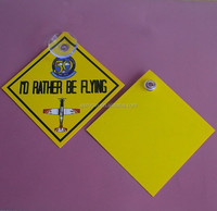 customised PP car hanging sign