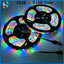 IP67 Waterproof 54/m 4.8w/m SMD 3528 RGB full color led flexible strip