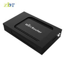 New product ZBT WE1026-5G Dual band 3g 4g openWRT car wifi router with 1 LAN port