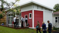 prefab movable modified container house