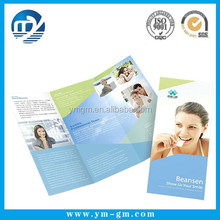 Custom Printed Matte / Glossy Advertising leaflet / flyer / brochure printing service