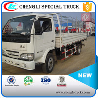 China low price Iveco 4x2 Mini Truck 2 ton 3 ton 5 ton with tent for sale