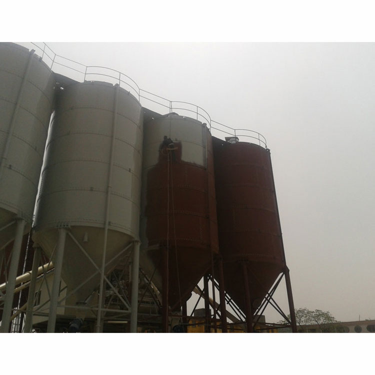Perfect sealing bulk steel high standard cement silo for sale from factory