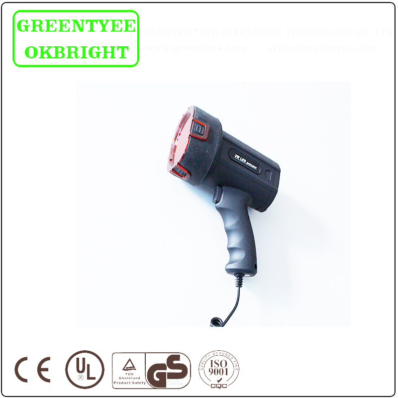 Good quality Portable led light spotlight