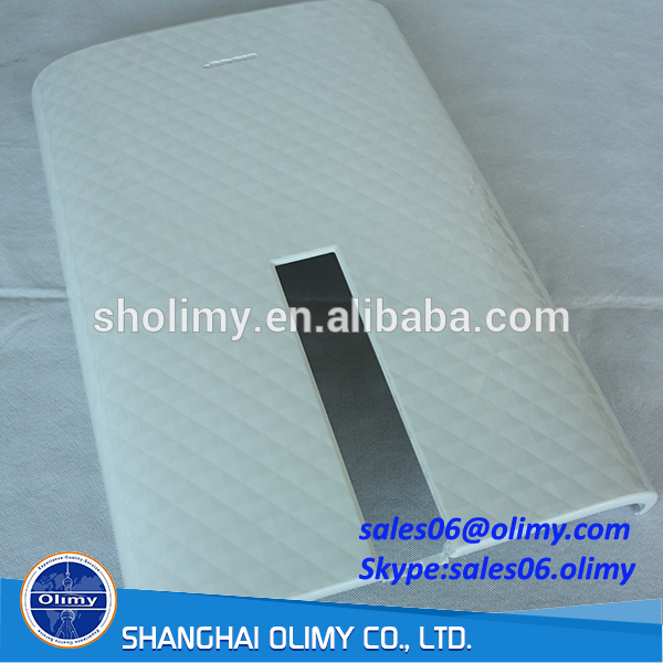 ISO certificated high quality Precision Plastic cover White ABS cover