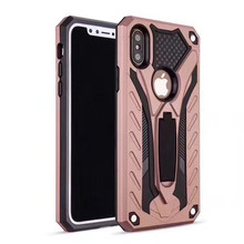 2017 new arrival unique design TPU+PC kickstand mobile phone case for iPhone X