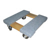 Wood material cargo moving dolly heavy duty work trolley