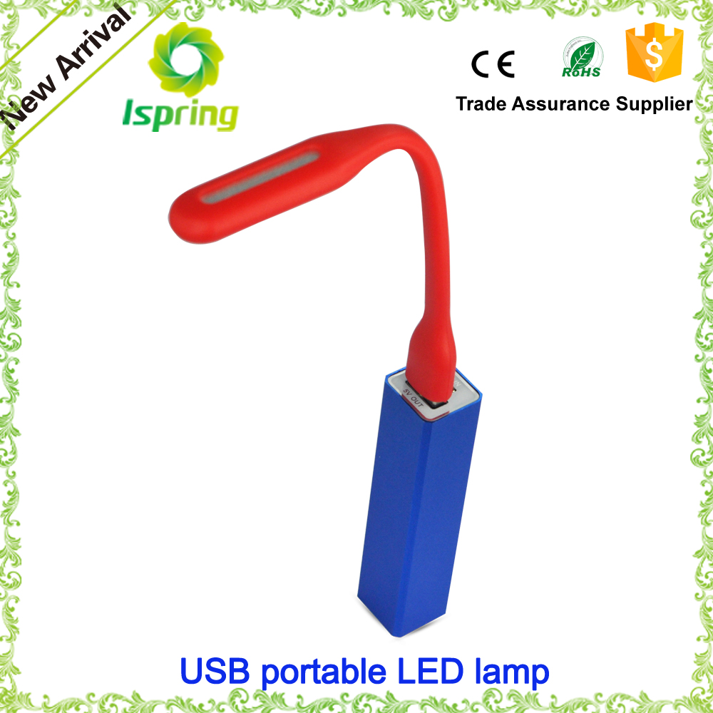 USB charger table lamp for power bank,computer desk lamp