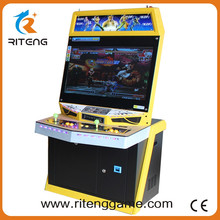 New Products 32 inch LCD 2 player street fighter cocktail machine arcade game table for 520 in 1