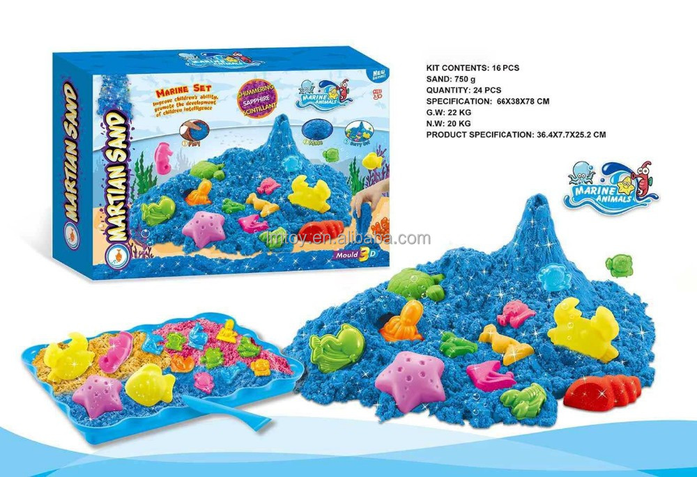 3D Sea World Magic Modeling Sand, Alive Sand,Magic Sand Art