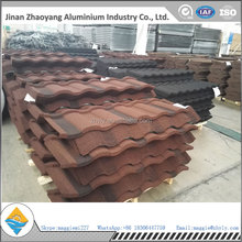 Chinese new products sand coated metal roofing tile used for house roofing