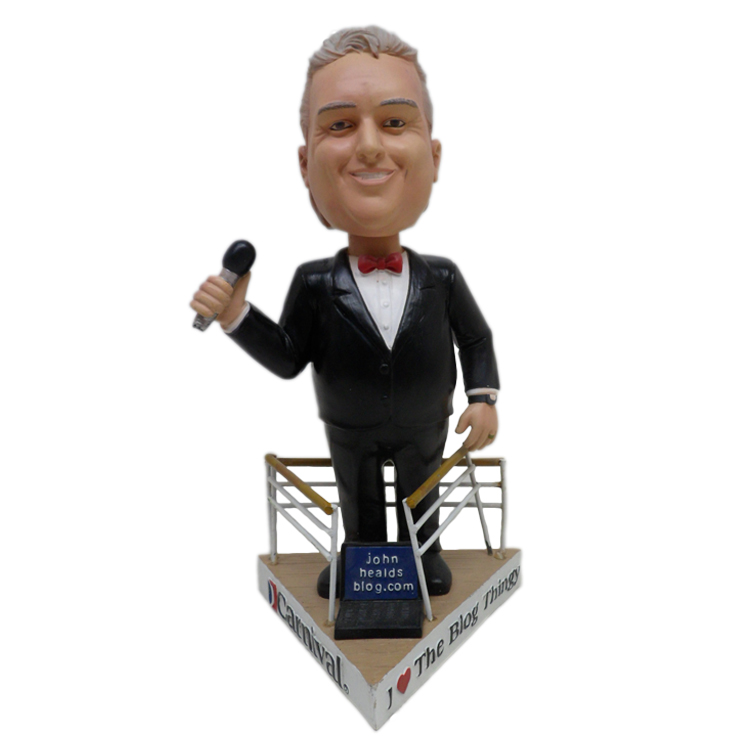 Customized Famous People Bobblehead Toy
