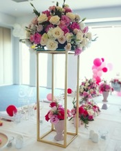 Metal Wedding Flower Stands, garden & events decoration
