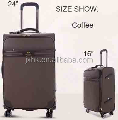 "16""/20""/24"" carry on luggage cabin case travel bag with trolley"