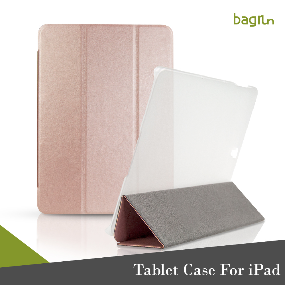 New Product Perfect Match Hard Back Slim Folding Tablet Case For iPad