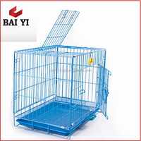 Direct Factory Supply Pet Outdoor Cheap Stainless Steel Dog Cage Collapsible Dog Kennel