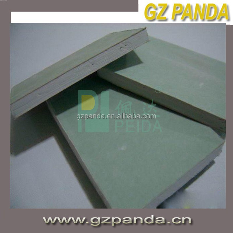 Fireproof Feature and Paperbacked Plasterboards Type Gypsum Board