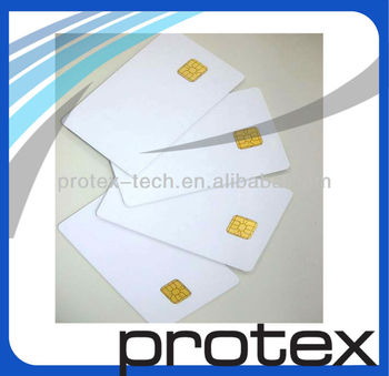 Blank CR80 SLE4442 Secure Memory Smart Card