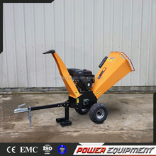 Gasoline Engine Mobile Log Shredder Chipper