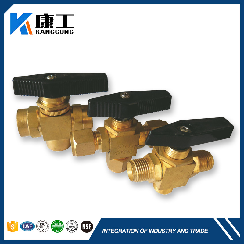 Boutique Garden Panel Mount Copper Ball Float Valve