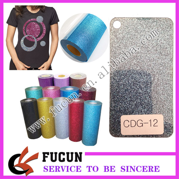 Craft Sheets Glitter Flake Iron On Heat Transfer Vinyl HTV