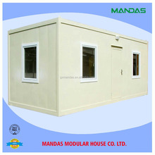 Move-in 20ft economic living prefab container house price,house of two container,container modular home