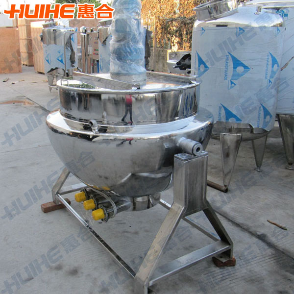 200L Electric Heating Tilting Candy Cooking Pots with Agitator