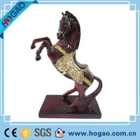 Wholesale indoor decorative horse, lifelike resin horse for home decor, promotional horse animal for sale