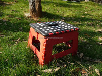 Portable and cheap plastic adjustable step stool