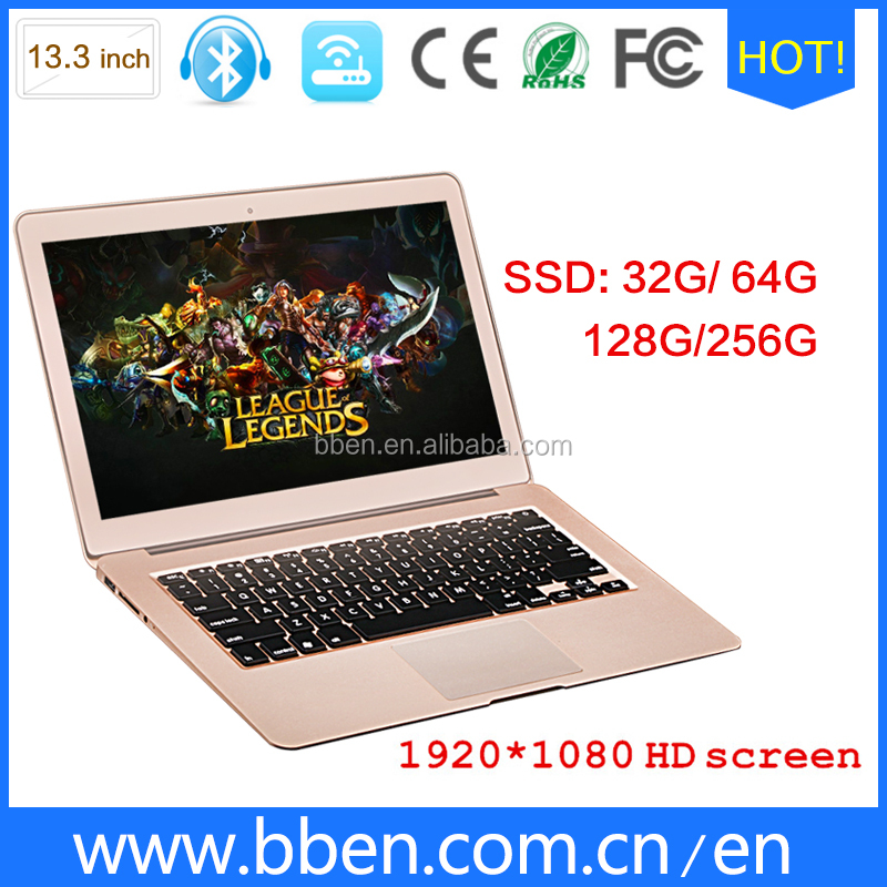 World cheapest laptop 13.3' used laptop i7 dual core wifi bluetooth