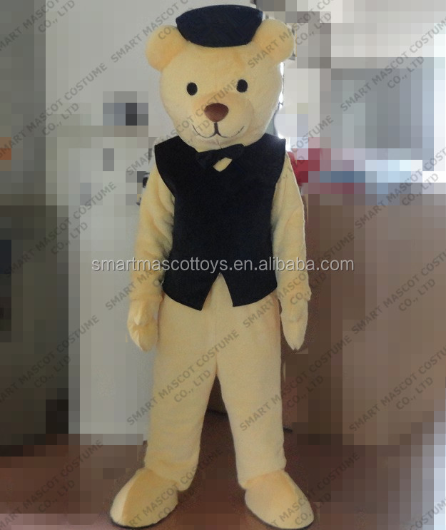 100 In Kind Shooting Man Size Adult Teddy Bear Mascot Costume