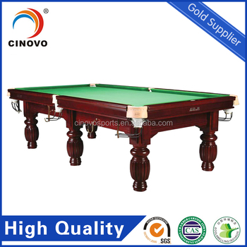 Solid Wood Pool Table/Slate Billiard Pool Table-19