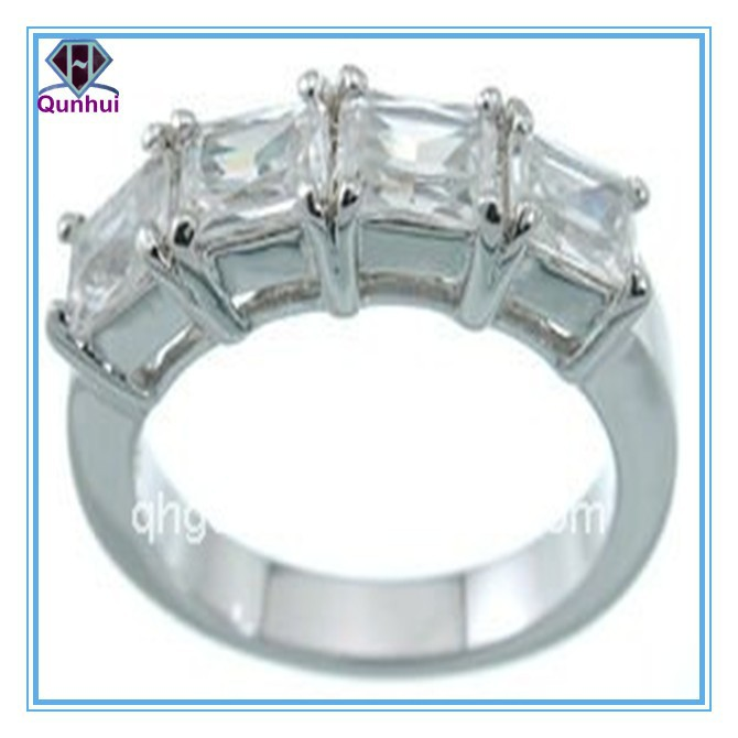 charming Gradual Change Leaf shaped cz jewelry