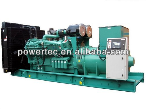 Open type 5000kw groupe electrogene water-cooling generator