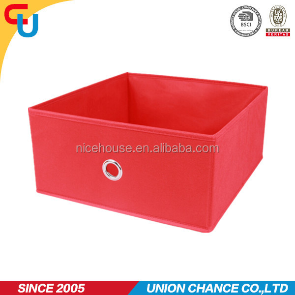 Promotional home cardboard storage drawer for home organizer in Yiwu