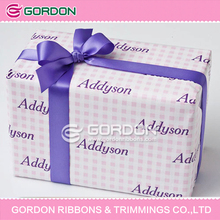 2016 Floral Style and Pull Bow Type/Ribbon Material Packaging Ribbon Bow Wholesale for box wrapping