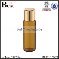 2/3/4/5/6/7/8ml essential oil sample bottle screw tube bottle wholesale perfume tester vial