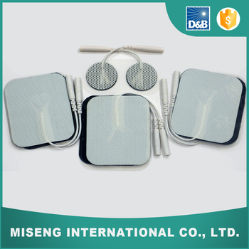 Portable High Quality Low Frequency Physiotherapy Equipment Tens Electrode Pads