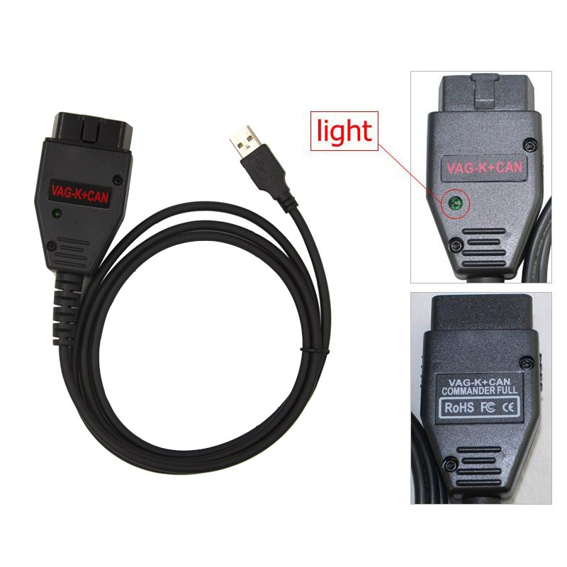 2017 CNP Factory Price VAG 3.6 Cables K+ Can, wholesale vag 3.6 OBD2 K+Can Commander