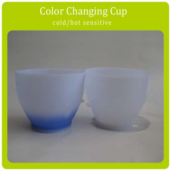 OEM Custom Made Temperature Color Changing Plastic Cup Cold Sensitive