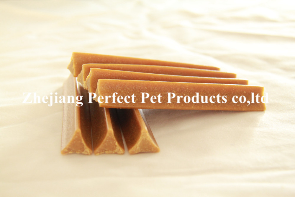 corn flavor dental sticks with DHA pet food , pet snacks