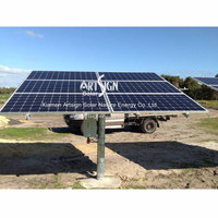 Single Post Solar Mounting System