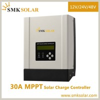 high efficency mppt 30a solar charger controller 48 volt