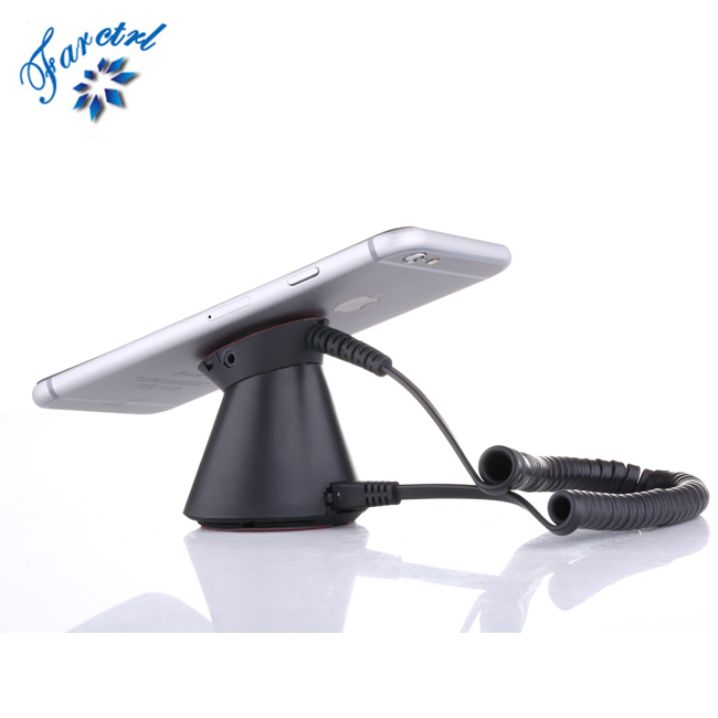 2017 Hot Sale CE RoHS Approved Cell Phone Anti-theft Stand Mobile Phone Stand <strong>Alarm</strong>