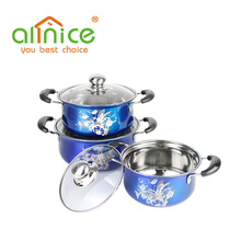 Fashion design good price stainless steel happy baron cookware set/cooking pot cookware set