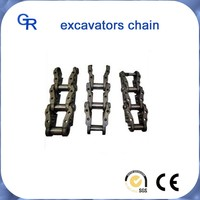 construction machinery excavator undercarriage spare parts track chain assy