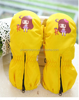 Jining powersky 2015 winter child warm hand gloves new born baby mittens