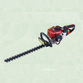 1E32F engine double side 25.5cc gasoline hedge trimmer made in china/two blades hedge trimmer