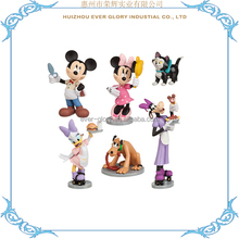 Custom Made 3D Small Figurine Plastic PVC Figurine Toy for Kids